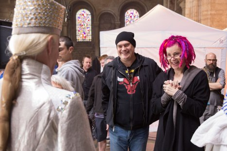 directors Andy and Lana Wachowski