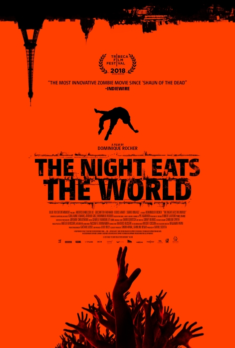 THE NIGHT EATS THE WORLD_US Theatrical Poster