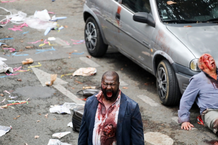 Zombies take over Paris in THE NIGHT EATS THE WORLD, courtesy Blue Fox Entertainment