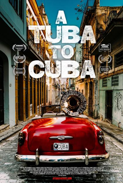 A TUBA TO CUBA - poster